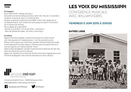 Les Voix du mississippi - William Ferris